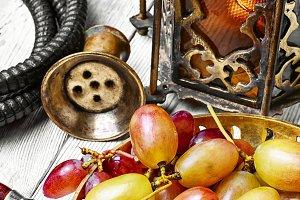 hookah and large grape