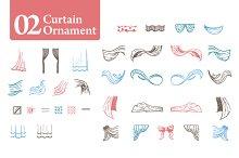Curtain Ornament [02]