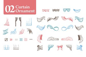Curtain Ornament [02]