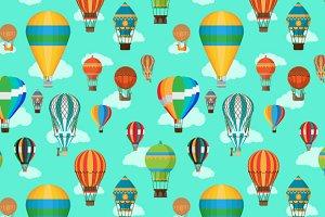 Balloons pattern