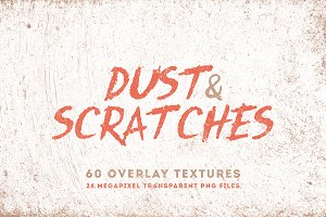 Dust & Scratches 60 Overlay Textures