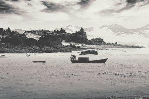 Pirangi Beach, Black and White