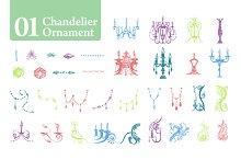 Chandelier Ornament [01]