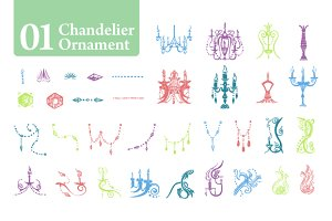 Chandelier Ornament [01]