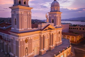 The cathedral of Santiago de Cuba