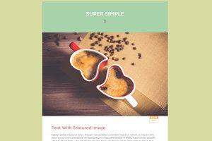 Super Simple - WordPress Blog Theme
