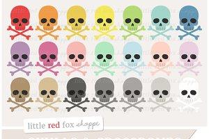 Skull & Crossbones Clipart
