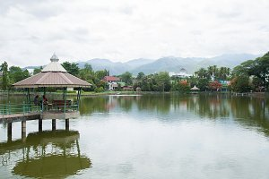 Reservoir in Mae Hong Son province.