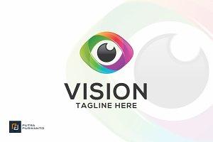 VISION / eye - Logo