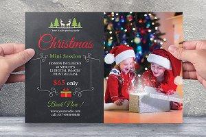 Christmas Mini Session Template-V413