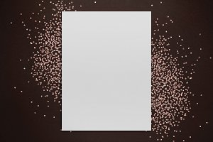 Glitter Poster Mockup