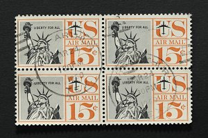 Liberty for all postage stamps