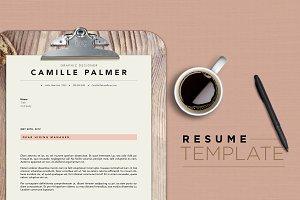 Resume Template - 3 Page
