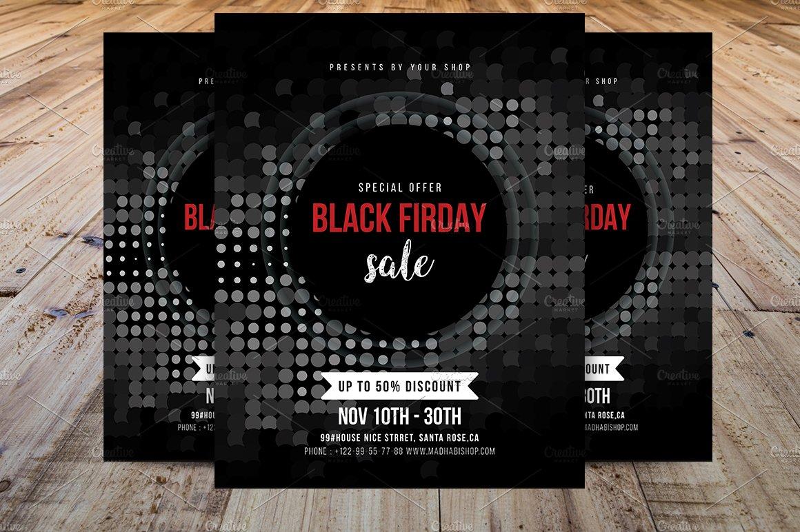 Black friday flyer Photos Graphics Fonts Themes Templates – Black Flyer Template