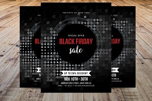 Black Friday Flyer Template V1