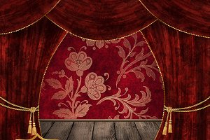 10 Velvet Stage Curtain Backdrops