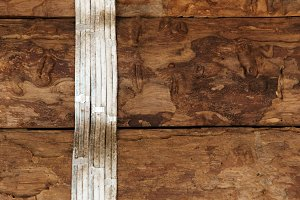 electric cable wire on wood wall