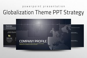 Globalization Theme PPT Strategy