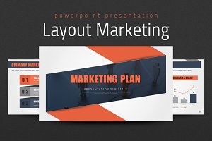 Layout Presentation Marketing