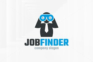 Job Finder Logo Template