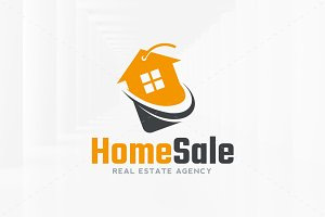 Home Sale Logo Template