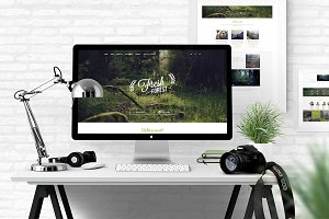 FreshForest - OnePage PSD Template