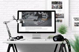 FreshBlog - minimalist PSD Templates
