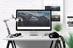 Clumbing - Travel Blog Template
