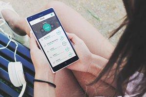 FitGuide - Diet & Sport App Design