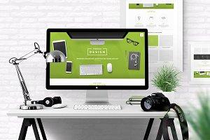 FreshDesign - Portfolio PSD Template