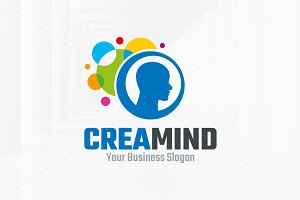 Creative Mind Logo Template
