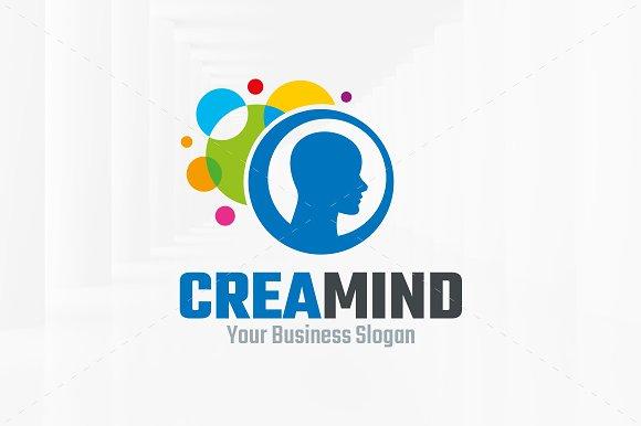 Creative mind logo template logo templates creative market creative mind logo template logos wajeb Gallery