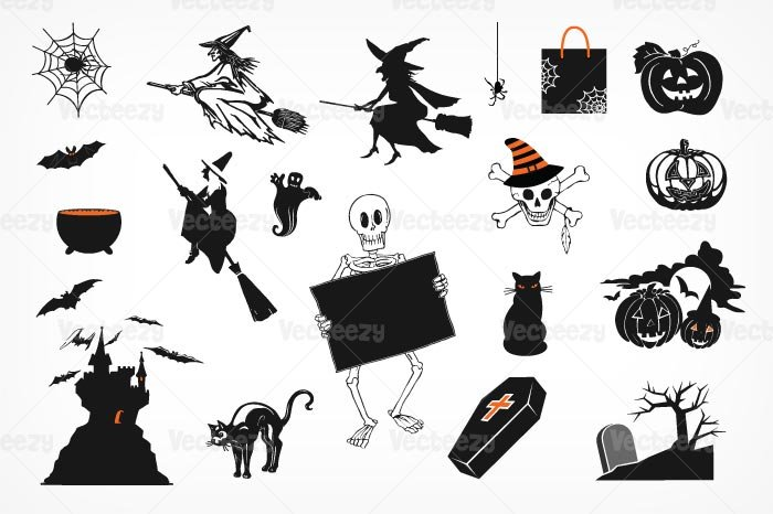 Spooky Halloween Brush Pack ~ Photoshop Add-Ons ~ Creative