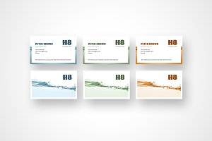 Business Cards | all the colors