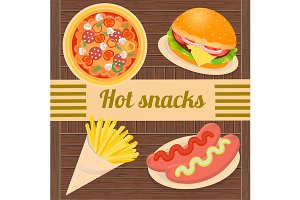 Hot snacks