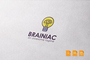 Brainiac Logo Template