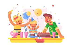 Children birthday party