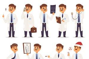 Doctor character vector