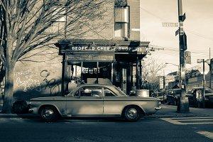 Bedford Cheese Shop (B+W)