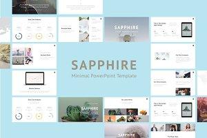 Saphhire Minimal PowerPoint