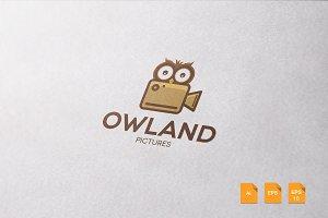Owland Logo Template