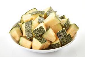 Melon slices stack