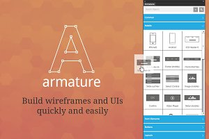 Armature - drag-n-drop wireframing