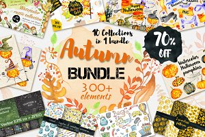 70%OFF Autumn Fall Bundle 10in1