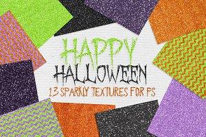 Halloween Glitter Textures