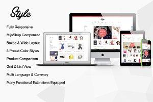 Joomla Themes: YouTech - SJ Style - Responsive MijoShop Theme