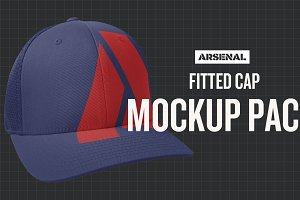 Fitted Cap Mockup Template Pack