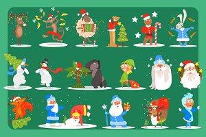Christmas Set. Christmas decoration