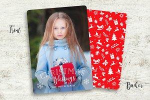 christmas photo card #1