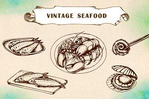 Vintage seafood
